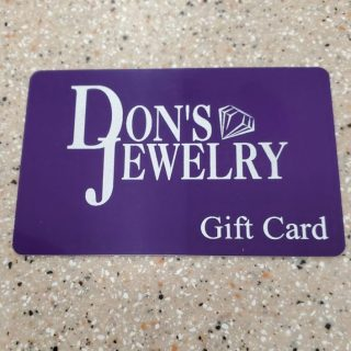 "photo of Don""s Jewelry Gift Card on Shop Where I Live"